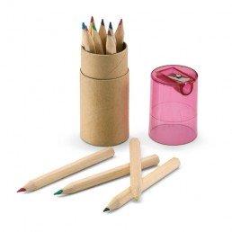 """Värvilised pliiatsid teritajaga """"Lambut"""""""