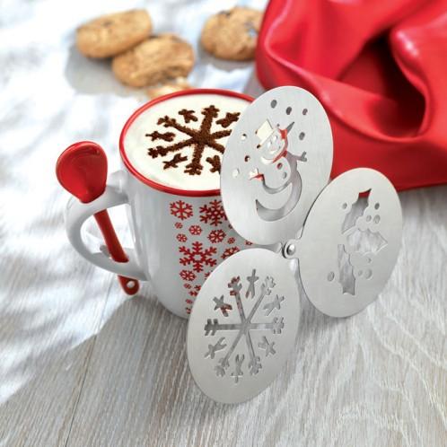 """Kohvi kaunistamise trafaretid """"Coffeedeco"""""""