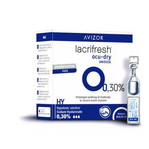 Lacrifresh Moisture Unidose 0,3 % (20 x 0.4 ml)